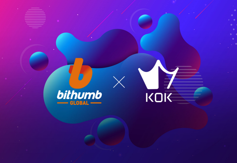 [KOK PLAY] Listing on Bithumb Global