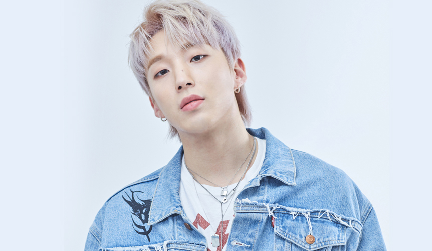 Jongup, a member of former idol group B.A.P, signed an exclusive contract with the Groove Company.