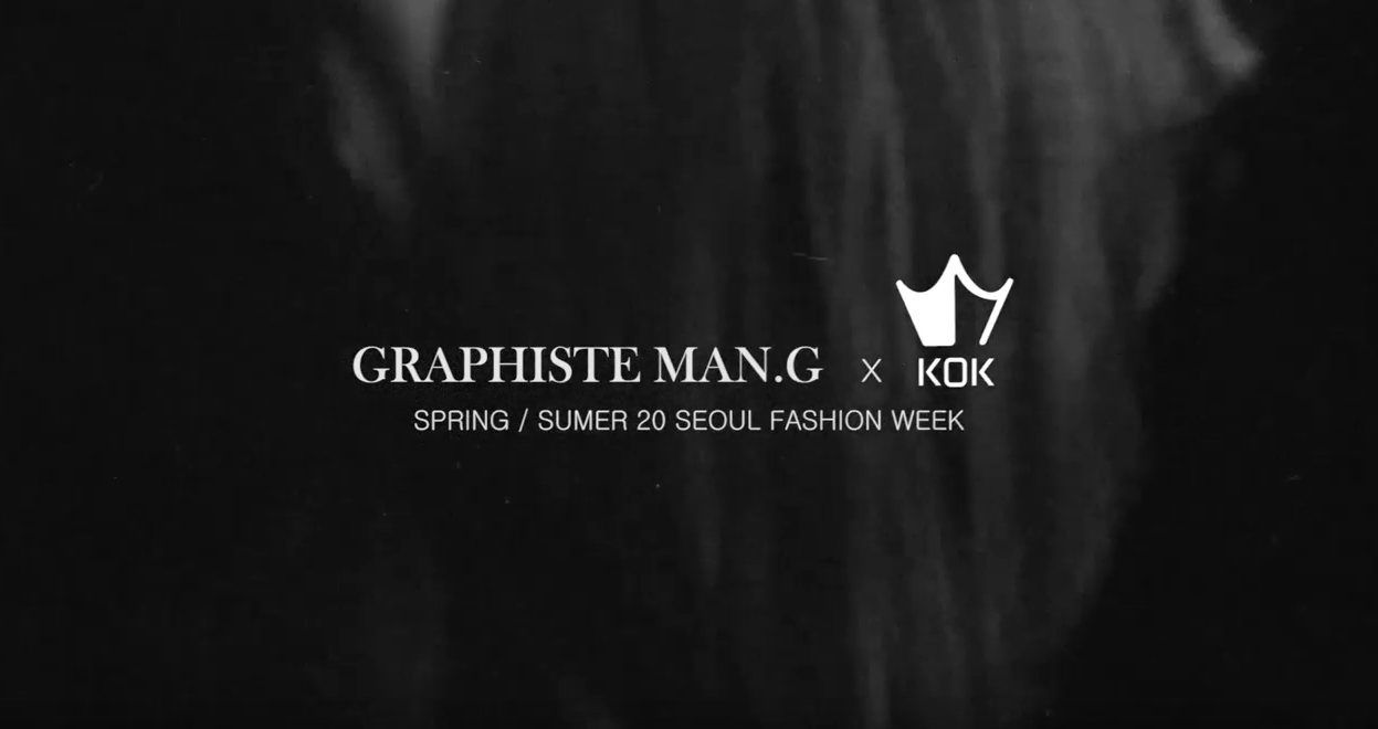 2020SS Fashion Week, Fashion Film Video of Graphiste Man.G